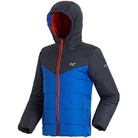 Regatta Lofthouse II Jacket Kids Seal Grey/Oxford Blue